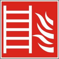 Brandladder ISO 7010