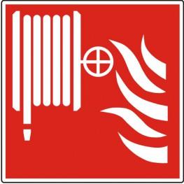 Brandslanghaspel ISO 7010